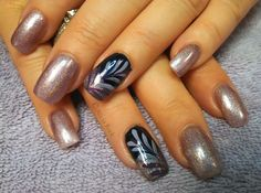 Purple Fall by @aliciarock via @nailartgallery #nailartgallery #nailart #nails #polish #fall #autumn #purple
