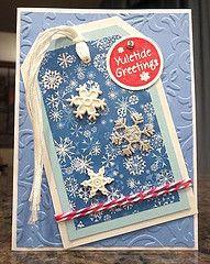 Karen Ladd's snowflake tag