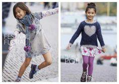 Moda Elegante y Glamorosa Para Niños y Niñas: Benetton para Niños.