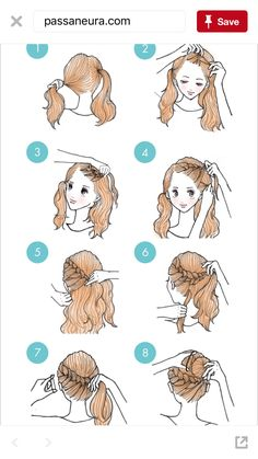 Frisur ideen HairEasy Frisuren Who is Making New Yor Cute Simple Hairstyles, Quick Hairstyles, Everyday Hairstyles, Braided Hairstyles, Medium Hair Styles, Curly Hair Styles, Layered Hair, Hair Art, Hair Hacks