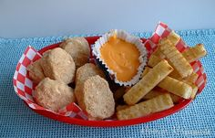 """April Fool's Day """"chicken nuggets and fries"""" - it's dessert! from @Hoosier Homemade"""