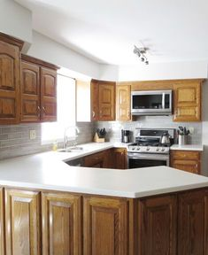 Traditional Light Wood Kitchen Cabinets 91 Kitchen