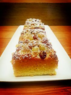 Gluten-free Roasted Grapes & Rosemary Almond Cake   Tender Greens