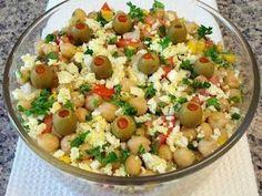 Salada de grão-de-bico, Receita Petitchef