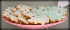 Cookies at a Elephant Party #elephant #partycookies