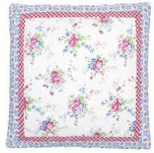 Kussenhoes quilted Anges wit 50x50