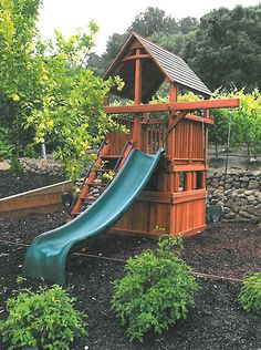 small backyard playsets into a space saver for small
