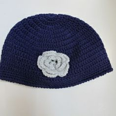79ee0e1d359 Hand crocheted hat in a gorgeous purple colour with contrast grey coloured  detail. Handmade from special ceritified organic bamboo  organic cotton  blend ...