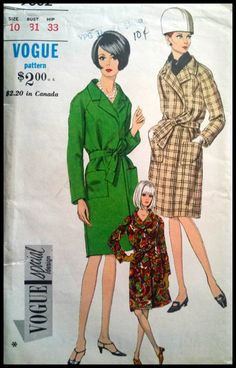 Vogue Special Design Pattern No. 7002 Misses' by ThePatternShopp