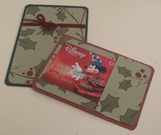 Mashed Potatoes and Crafts: Christmas Gift Card Holder