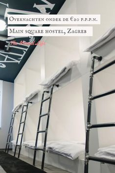 Main Square Hostel is located in the center of Zagreb, just 66 feet from Ban Jelačić Square. Hostel, Bunk Beds, Maine, Loft, Furniture, Home Decor, Decoration Home, Loft Beds, Room Decor