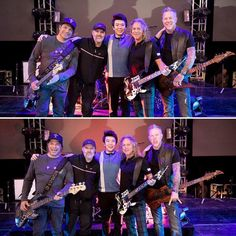 Beijing, China - January 18, 2017 #RobertTrujillo #LarsUlrich #LangLang #KirkHammett #JamesHetfield #Metallica #MetallicaFamily #MFF