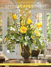 Garden Flowers - Annuals Or Perennials Yellow and White Faux Cherry Blossom, Tulip and Daisy Centerpiece Fake Flower Arrangements Online Spring Flower Arrangements, Large Floral Arrangements, Silk Floral Arrangements, Artificial Flower Arrangements, Beautiful Flower Arrangements, Artificial Flowers, Spring Flowers, Beautiful Flowers, Arte Floral