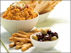 Middle Eastern Pumpkin & Chick Pea Dip