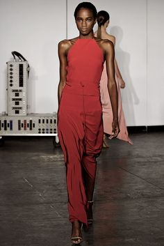 Juan Carlos Obando Spring 2015 Ready-to-Wear - Collection - Gallery - Style.com  Pantone Color of the Year 2015 Marsala