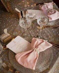 Bow napkin idea