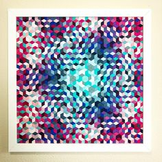Fabric Weaving Quilt idea via Mister Domestic