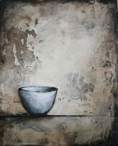 full. plaster and mixed media on wood by Stephanie Lee - another beautiful painting to love!