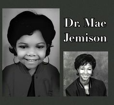 Lola Jones poses as Mae Jemison, the first black woman to travel in space. (Courtesy of Cristi Jones)