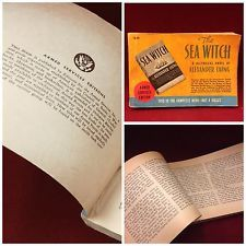 """499 Libro """"The Sea Witch"""" by Laing Ed. Riservata alle Forze Americane"""