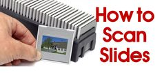 Are your old slides stuck in a box in your basement? Enjoy them again by learning how to scan your old slides so you can print and share them online. Photo Fix, Diy Photo, Photo Ideas, Photo Repair, Photo Scan, Photography Projects, Photography Tips, Street Photography, Landscape Photography