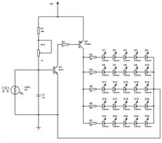 #AutoIntensityControl of Street Lights Circuit, in which the street light intensity increases during the evening time and gradually reduces in late nights.   #ElectronicProjects #Elprocus #Electricalprojects