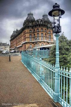 The Grand Hotel from Spa Bridge ~ Scarborough, North Yorkshire, England