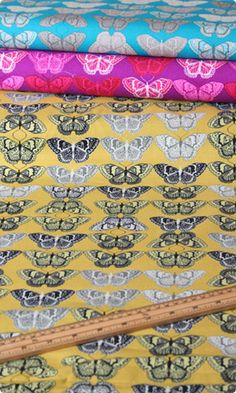 Cocoon Cashmere Butterfly Print in Bamboo by Valori Wells