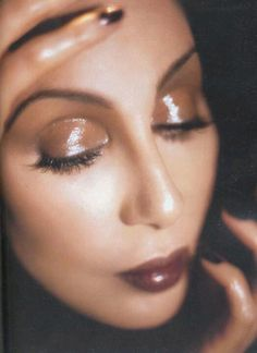 Cher-makeup by Kevyn Aucoin