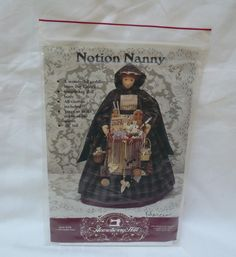 Gooseberry Hill Pattern #189, Notion Nanny, 1993 Kathy Pace by ConcealedTreasures on Etsy