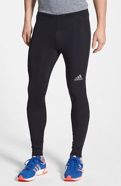 adidas 'Sequencials' Brushed Running Tights available at #Nordstrom