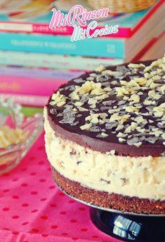 stracciatella, nata, chocolate, galleta, tarta, mousse, pastel, no horno, receta, recipe, stracciatella mousse cake, no bake.