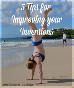Pin it! 5 Tips for Improving your Inversions - Jayne Becca Yoga