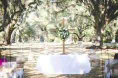 ceremony - South Carolina Plantation Wedding - (photo: Feuza Reis Studios)