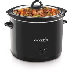 Free 2-day shipping on qualified orders over $35. Buy Crock-Pot 4-Quart Slow Cooker, Black, SCR400-B at Walmart.com