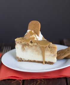 Cookie Butter Cheesecake | Cookie Dough & Oven Mitt