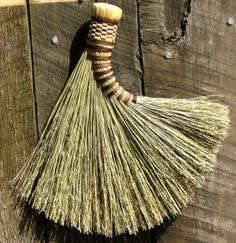 Turkey Wing Whisk Broom. A traditional whisk broom. Was used by Benjamin Franklin to promote the Turkey as the National Bird to Congress in 1782.