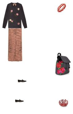 """Grace"" by zoechengrace on Polyvore featuring Raquel Allegra, N°21, Gucci, Charter Club and Alessi"