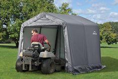 Storage Shed Shelter Car Garage Steel Shade Canopy Carport Tent Portable Storage Sheds, Portable Garage, Storage Shed Plans, Garage Canopies, Carport Ideas, Carport Garage, Garage Ideas, Car Garage, Fishing