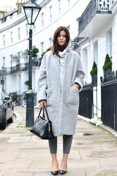 Love a cozy coat.