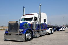 """Search results for """""""" in 1 category Page Show Trucks, Big Rig Trucks, Old Trucks, Peterbilt 359, Peterbilt Trucks, Brush Truck, White Tractor, American Truck Simulator, Air Ride"""
