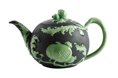 JB004931BG Franz Porcelain Pomegranate Teapot JB Collection Black ...