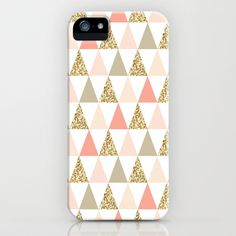 Graphic and Glitz in Coral Reef iPhone & iPod Case