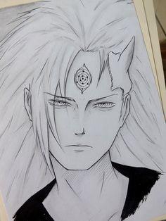 Diego Yoji Joji Sasuke - Naruto The Last xd Naruto Sketch Drawing, Naruto Drawings, Anime Drawings Sketches, Naruto Art, Anime Sketch, Art Anime, Otaku Anime, Manga Anime, Anime Character Drawing