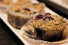 Blueberry Oatmeal Muffin Grab 'n Go cups   The Stay At Work Housewife   Gluten free, make ahead breakfast idea