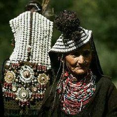 Kalash old woman Chitral Valley Pakistan