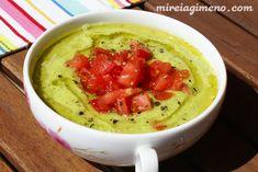 Crema de pepino, rúcula y aguacate  http://www.mireiagimeno.com/recetas/crema-de-pepino-rucula-y-aguacate