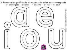 Memoramas de vocales para imprimir-Imagenes y dibujos para