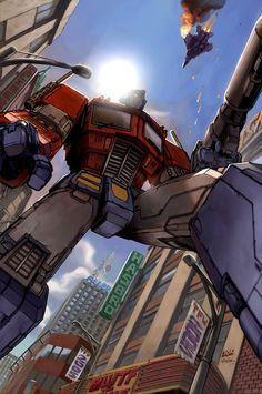 Optimus Prime by ~DonFig on deviantART - Transformers Autobot