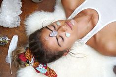 By incorporating crystals into our facials, we are able to activate and remove the unwanted, stagnant energy.